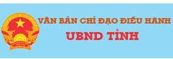 Văn bản chỉ đạo điều hành UBND Tỉnh